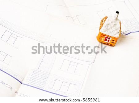 Dreamy house on house plan
