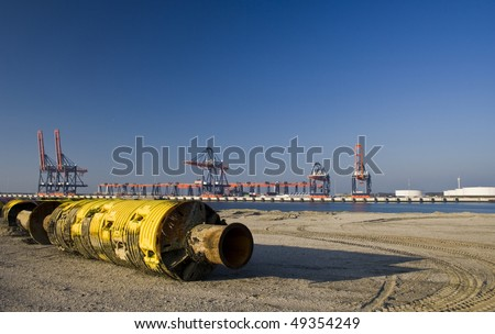 Dredging floating pipe