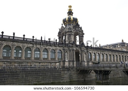 Dresden Moat of the Royal Household.