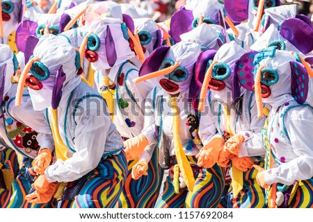Dresses and costumes of the Barranquilla´s Carnival #1157692084