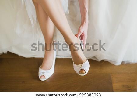 dressing bride