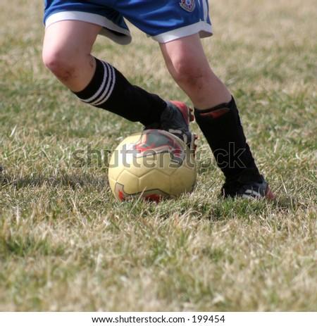 Dribbling Soccer Ball Dribbling With Soccer Ball