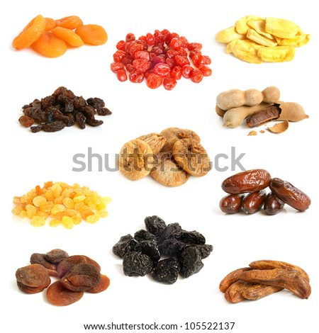 Dried Fruits Collection Images and Stock Photos - Avopix com