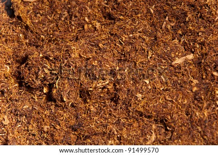 dried tobacco smoking