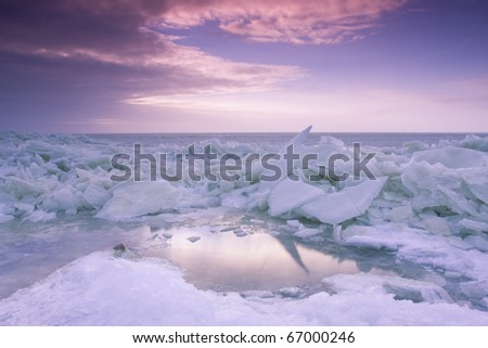 Drift ice