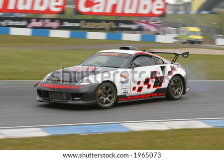 Drifting motor sport event