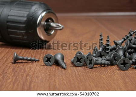 Drill and bolts