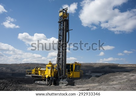 Drill press, Geology, energy, powerful, technology, mining, black gold, shipping coal, earth, coal mine