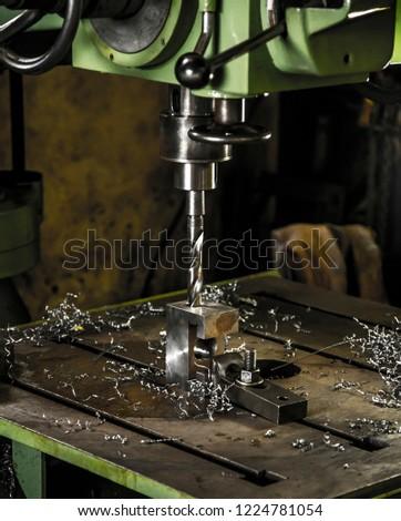 drilling machine industrial #1224781054
