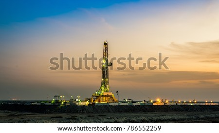 Drilling Rig in basra south of Iraq