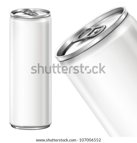 Drink can from blank aluminum.