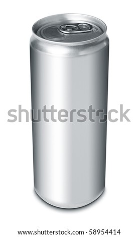 Drink can from blank aluminum