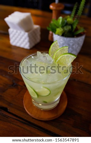 Drink, cocktail, cold drink, alcohol drink, caipirinha