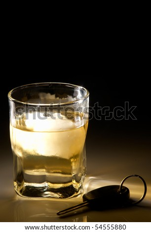 Drink driving - stock photo