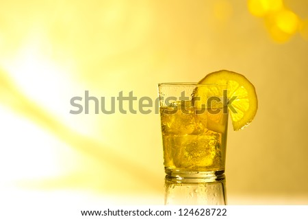 Drink in summer light