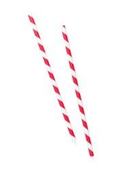 Drinking straws. Isolated on white background
