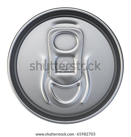 Drinks Can Cup (isolated on white and clipping path)