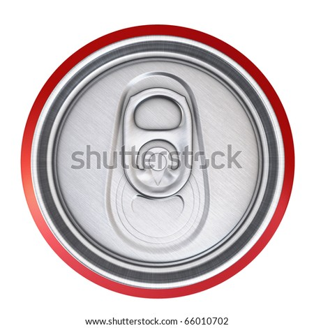 drinks cans (clipping path)