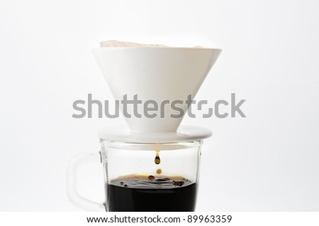 Drip coffee cup