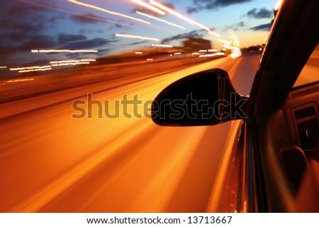drive - stock photo