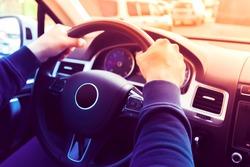 Driving a Car / Steering Wheel