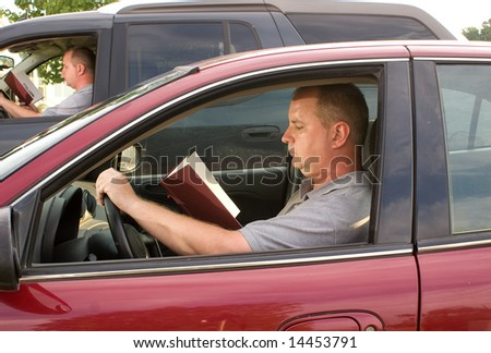 Driving and Reading
