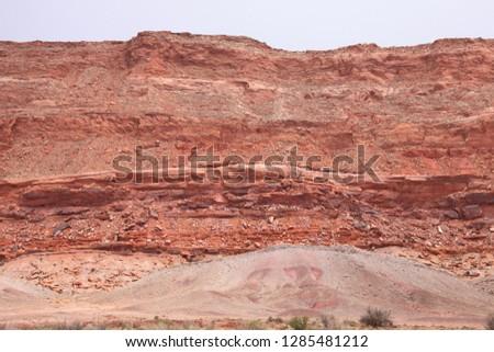 Driving Road 89 in Arizona