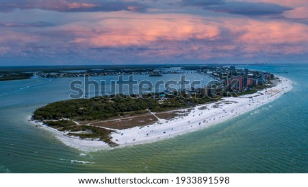 Drone photo of Fort Myers Beach Сток-фото ©
