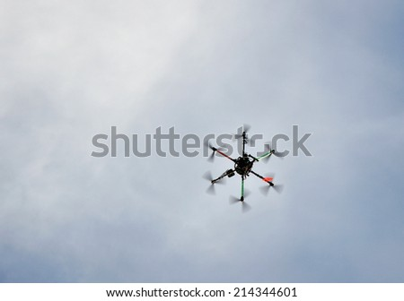 Technology Flying Drone Technology Flying Robot
