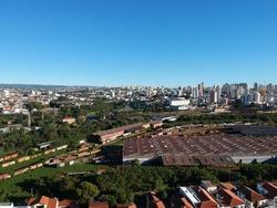 Drone View of Sorocaba City in Sao Paulo
