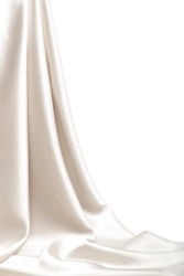 Drop-down satin fabric
