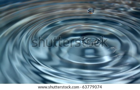 Photo of drop of water