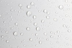 drops water white texture background rain day pattern