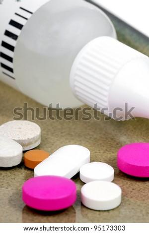 Drugs. - stock photo