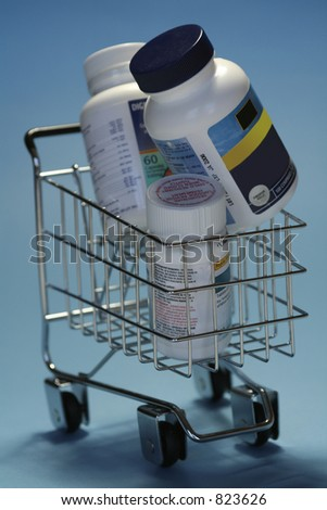 drugs in shoppingcart