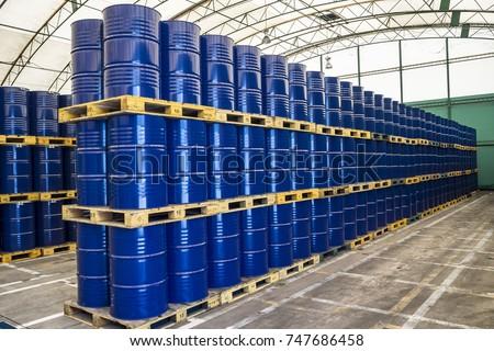 Drum two hundred liter stacking