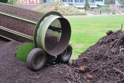 Drum Type Fertile Soil Sifting Machine for Large Garden