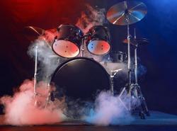 Drum unit. Scene, light.