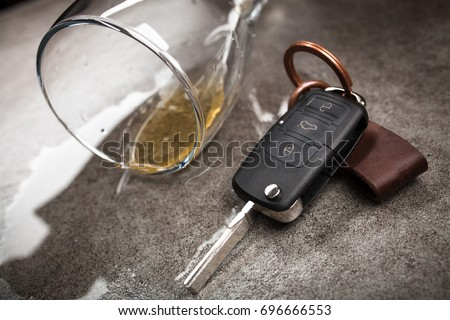 Drunk driving concept #696666553