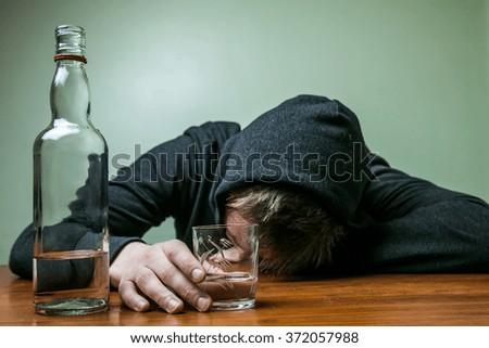 Free Photos Drunk Man With Bottlesaddespairdepressedblack And