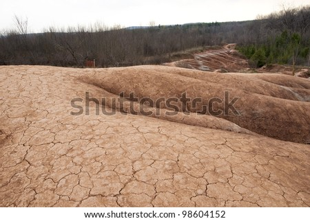 Infertile Land Infertile Land Stock Photo