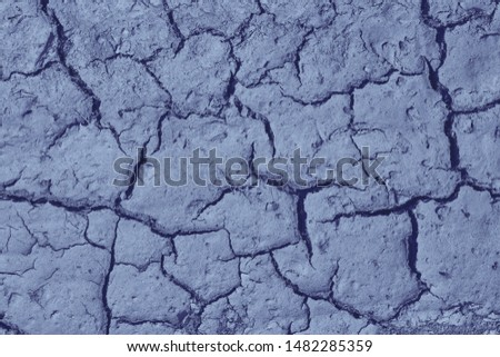 Dry cracked earth. cracked earth texture for design. textured background. #1482285359