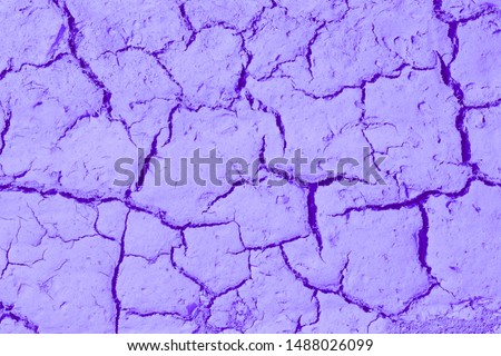 Dry cracked earth. cracked earth texture for design. textured background. #1488026099