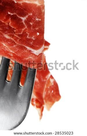 dry-cured spanish ham