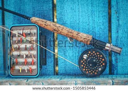Dry flies for fly fishing. #1505853446