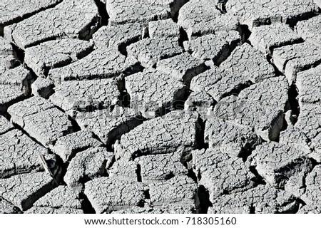 dry mud pattern #718305160