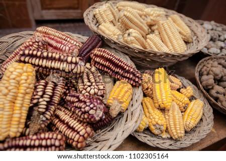 dry Peruvian corn