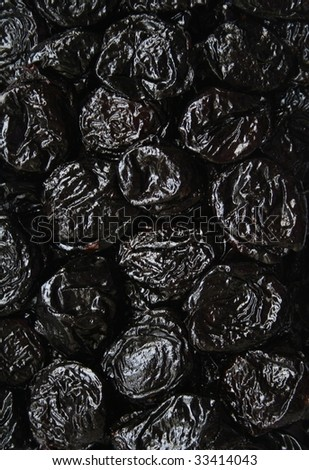 Dry plums or prunes fruit can use as background