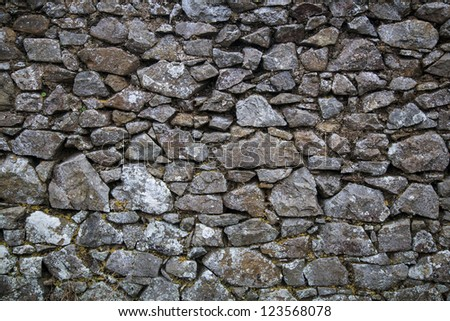 Dry Stone Wall #123568078