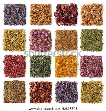 Dry tea-lavender,orange blossom, hibiscus,jasmin,chamomile,rosebud, elder flower,peppermint,rose petal,gunpowder tea,marigold flower,heather blossom, Fennel,apple, mallow flower, lime tree flower #42838303